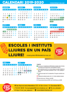 Calendari 2019-2020