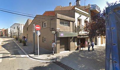 Xerrada informativa al carrer de Santa Bàrbara